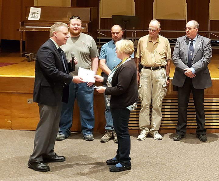 SHS's Lauri Tokerud  receives $6,000 grant  to buy drones for classes
