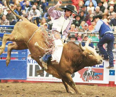 Preston And Dakota Louis Shine At Montana Pro Rodeo