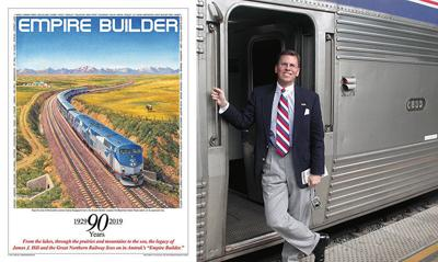 Meyer is passenger train enthusiast and Cut Bank advocate