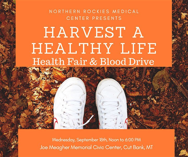 NRMC Health Fair and Red Cross Blood  Drawing on Sept. 18 at Civic Center