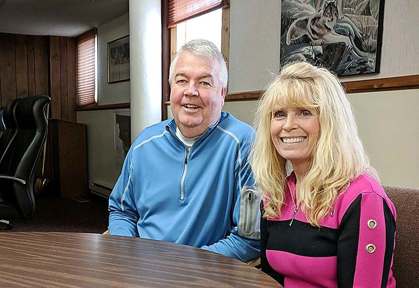 Laird and Aberg are retiring after nearly 30 years on the job