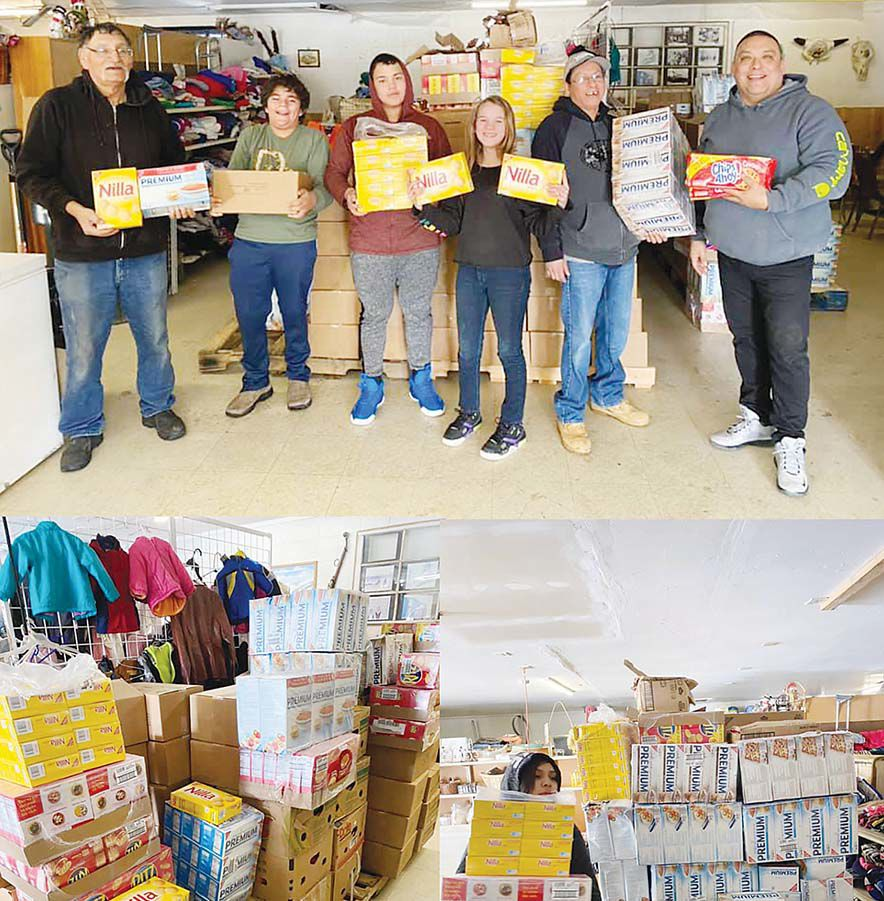 Blackfeet Food Pantry continues to deliver food to those in need