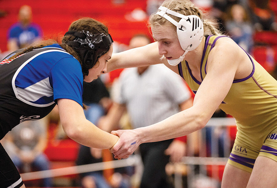 STATE CHAMPIONS: Cut Bank's Mariah Wahl, Valier's Skylar Connelly win titles at first ever Girls State Wrestling Tournament