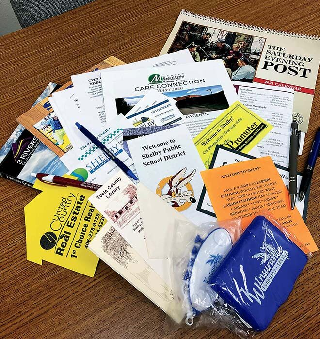 Help welcome new residents to the area by donating to  Chamber's welcome bags