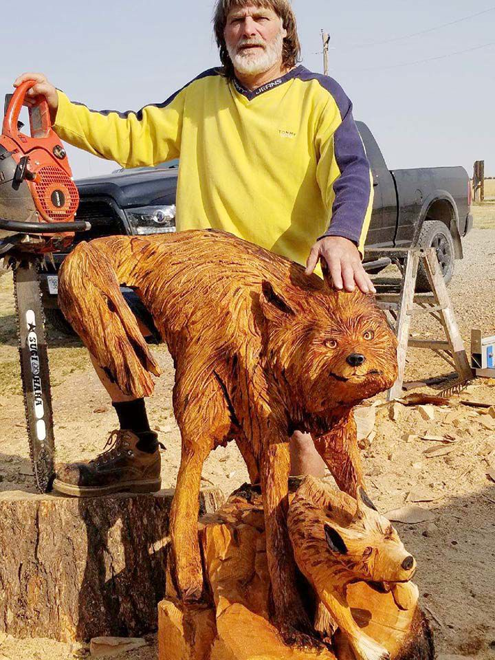 Only two montanans invited to chainsaw carving competition news