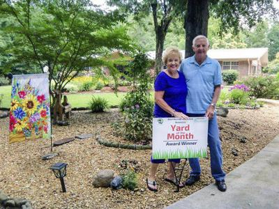 Hackneys' yard named Yard of the Month