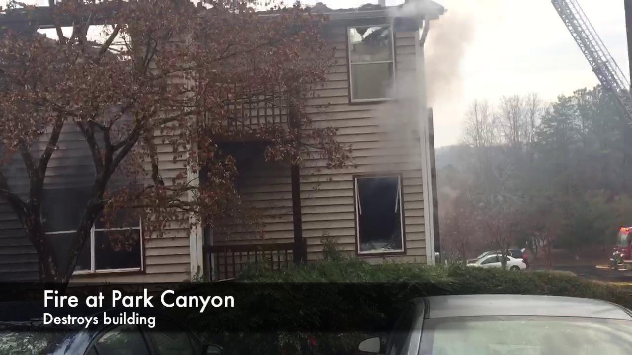 Park Canyon apartment fire | | dailycitizen.news