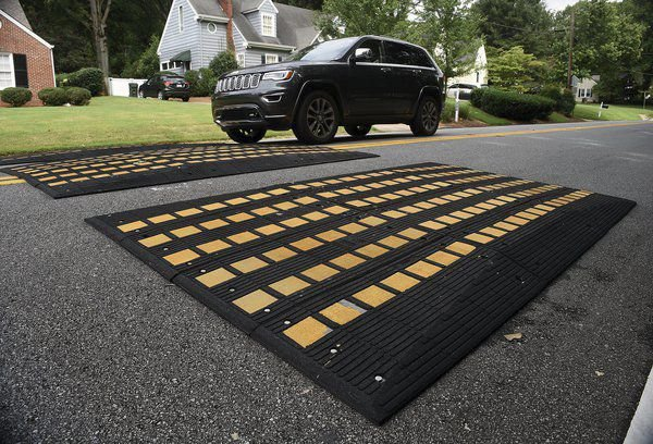 City set to expand 'speed cushions' on residential streets when citizens request them