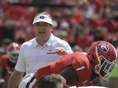 Smart discusses UGA's preparation for S.C., injury status of WR Godwin