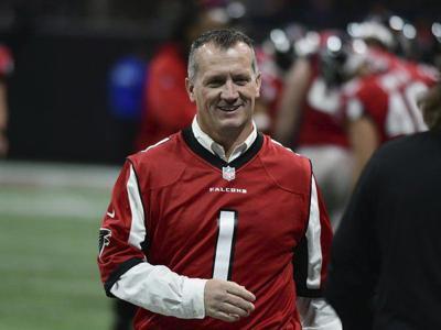 Honorary Atlanta Falcons captain