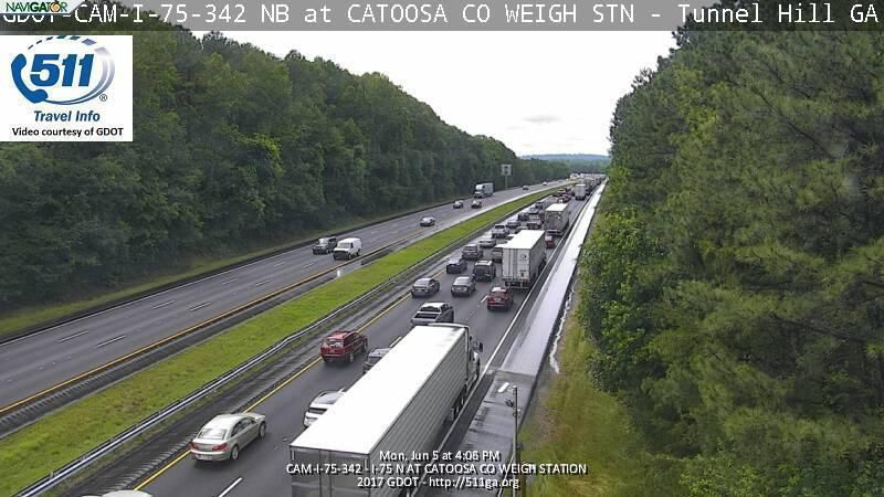 Accident on I-75 cleared in Ringgold | Local News | dailycitizen news