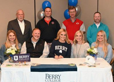Dalton High golfer signs to play at Berry