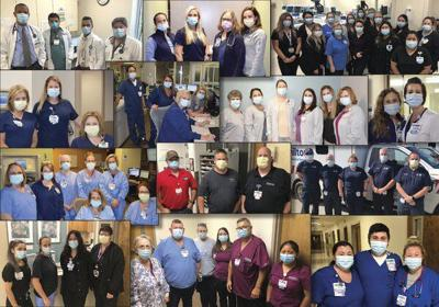 Hamilton Medical Center celebrating its heroes