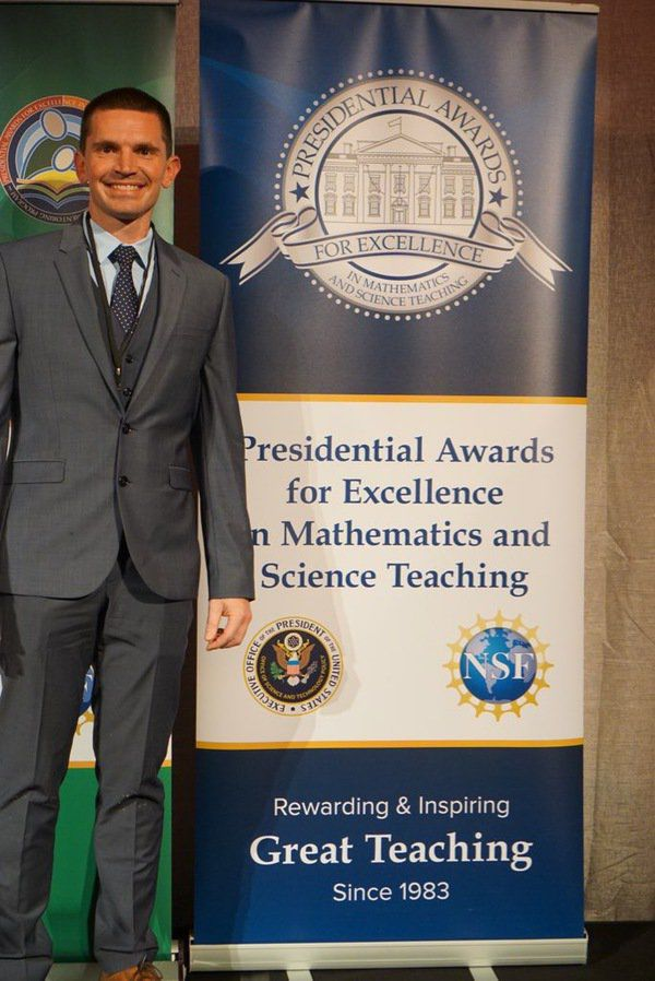 Singletary honored with Presidential Award for Excellence in Teaching