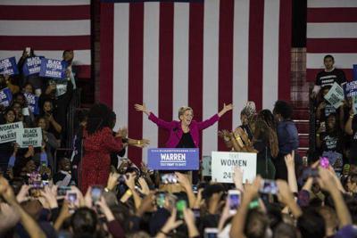 Warren honors black women