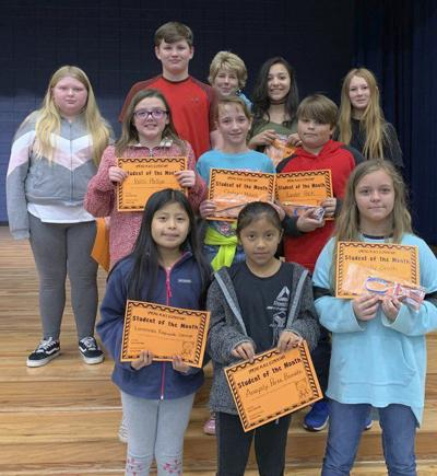 Spring Place Elementary recognizes 4th-6th grade Students of the Month