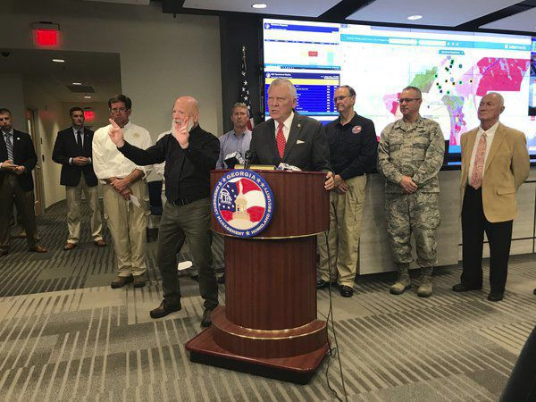 State troopers, National Guard stand ready for hurricane