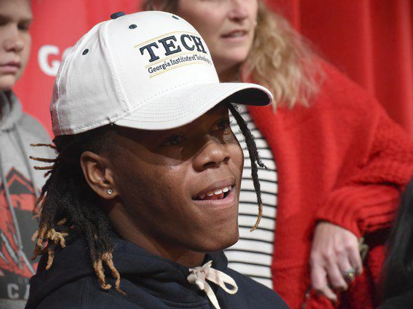 Choice made: Dalton RB Gibbs holds true to commitment, signs with Georgia Tech