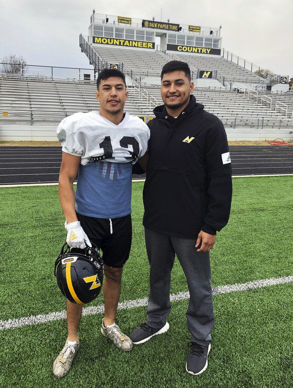 Always there: North Murray senior enjoying benefits of having brother as a coach