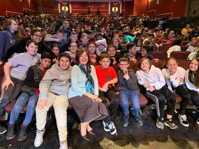 Storyteller presents to 2,600 area students
