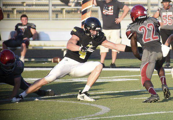 Done deal: North Murray senior football player commits to Navy