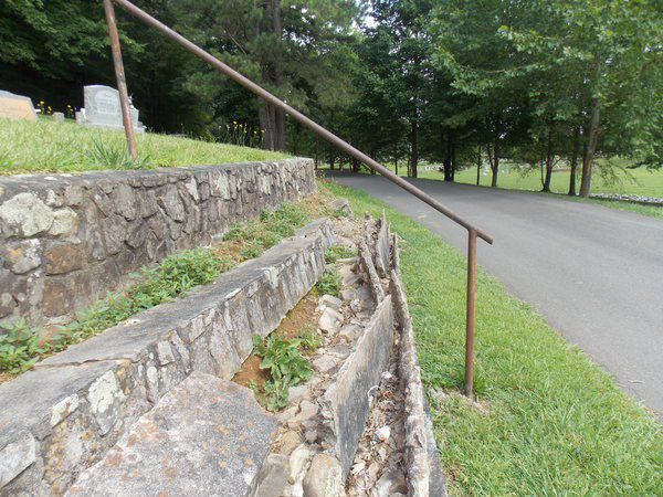 City officials to look at crumbling stonework in West Hill Cemetery