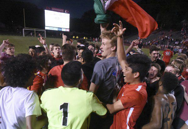 Leaving no doubt: Dalton overwhelms Pope to advance to state soccer championship