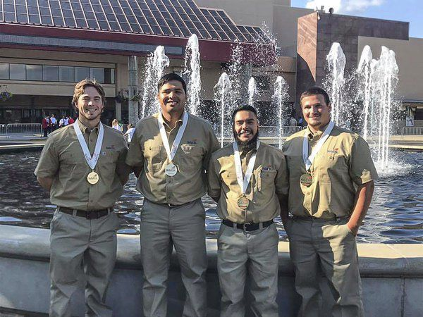 Whitfield County students help GNTC bring home a national championship