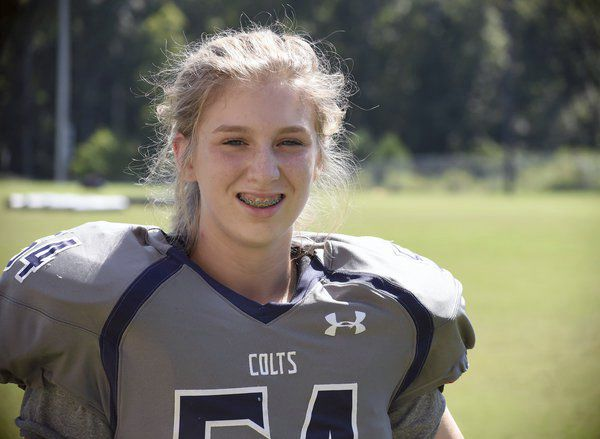 Don't get in her way: Coahulla Creek freshman proving doubters wrong on football field