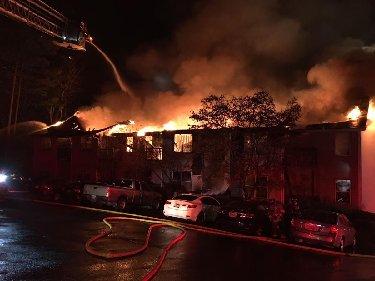 No injuries from fire at apartment complex; cause \'too early ...