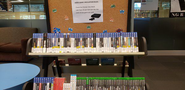 The Bookshelf: Game on at the library