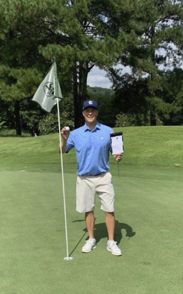 'Awestruck': Local man sinks $20,000 hole-in-one in tournament at The Farm