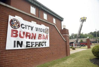 Dalton under summer burn ban; some outdoor burning in the rest of the county allowed with a permit