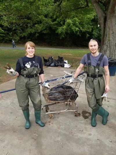 25 years of local watershed cleanup have removed 137 tons of litter