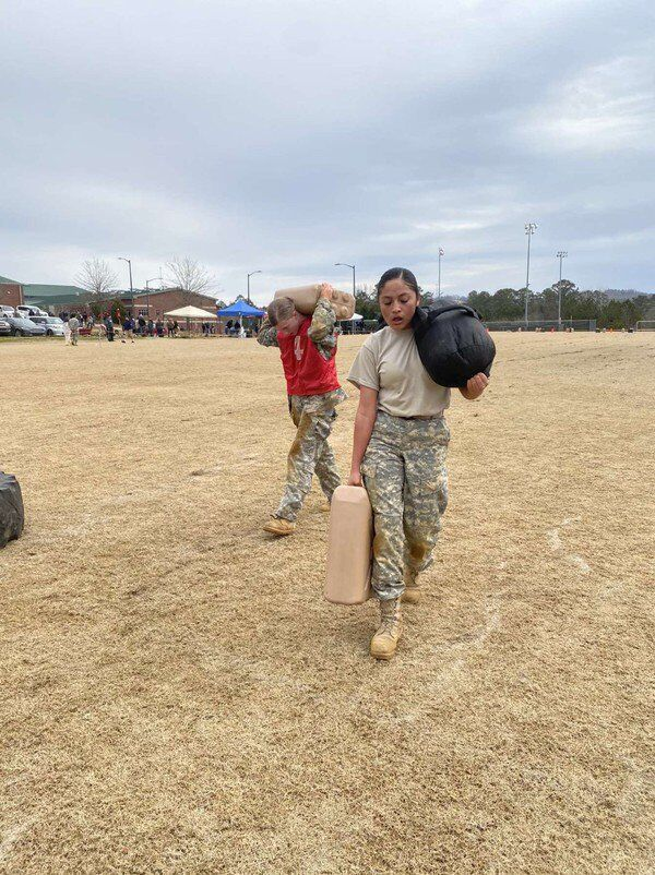 Dalton High JROTC competes in Best Raiders competition