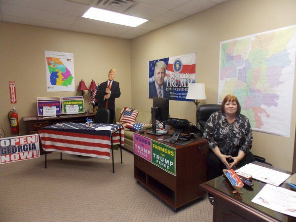 Whitfield County Republican Party opens Dalton headquarters