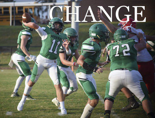 Change: Murray County football hopeful new offense, attitude bring results