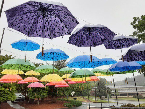 Rain can't wash away warm feelings at Spring for the Arts