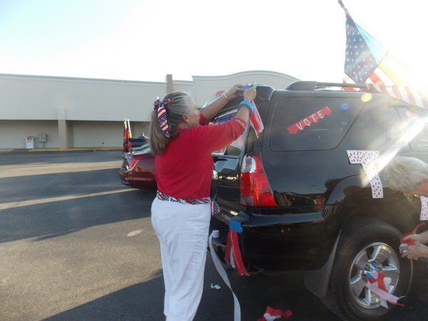 Making 'our voices heard': President Trump supporters hold vehicle parade in Dalton