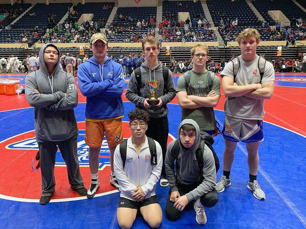 Northwest finishes fourth in Class 4A at state wrestling duals