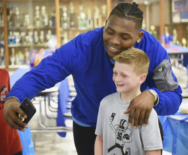 Return of the Mack: NFL's Isaiah Mack honored as Northwest retires his jersey
