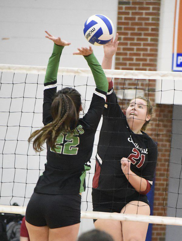 High school volleyball roundup: Northwest advances to region championship match, looking for third straight title
