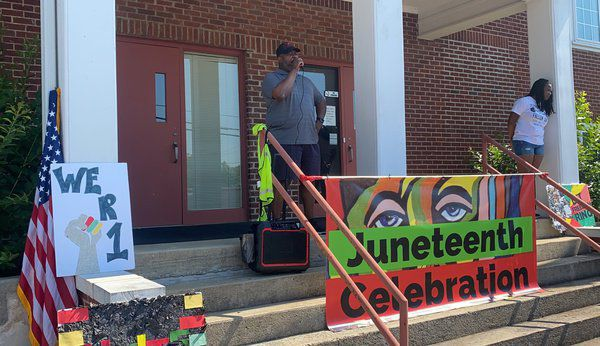 'And we are as one': Community commemorates freedom, unity during second annual Juneteenth Celebration