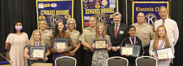 Kiwanis Club doubles up at annual DARE essay recognition program