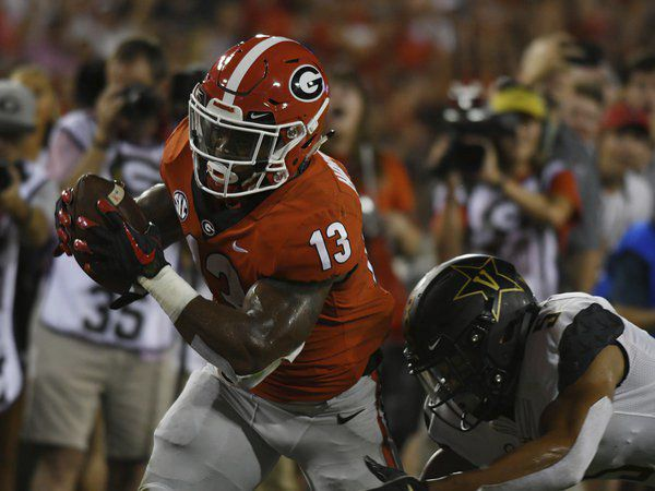 Built tough: Holyfield's hard work pays off for UGA and himself in 2018