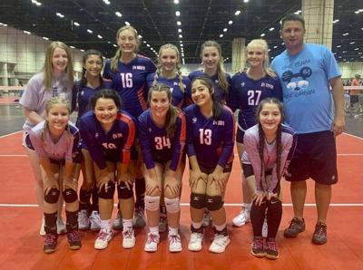 Local volleyball team competes in national tournament