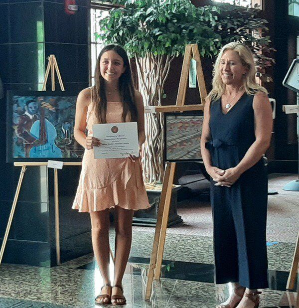Greene recognizes winners of 14th District art contest, North Murray High School student honored