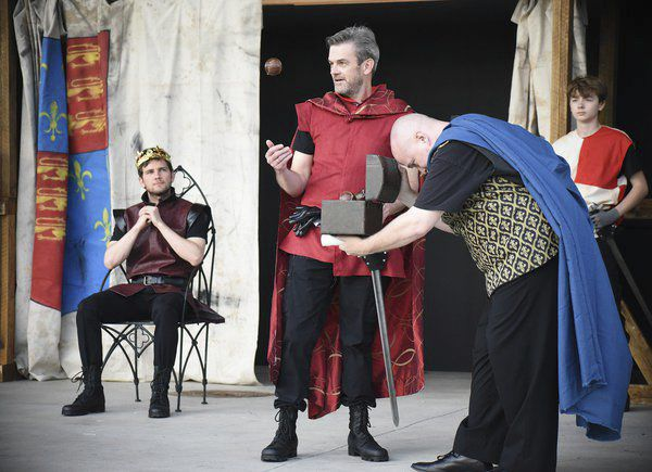 Free presentation of Shakespeare's 'Henry V' Thursday night in Burr Park