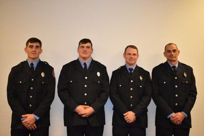 Four new firefighters graduate from recruit school