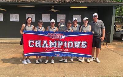 Dalton State women's golf team wins conference championship